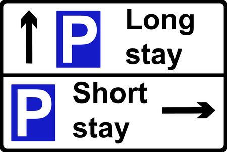 parking place sign photo