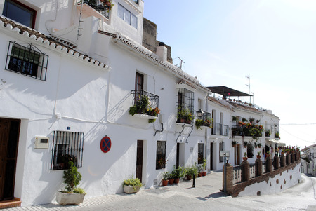 spanish village: Mijas village