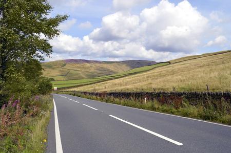 derbyshire: Glossop in Derbyshire, England UK