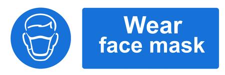ppe: Wear a face mask