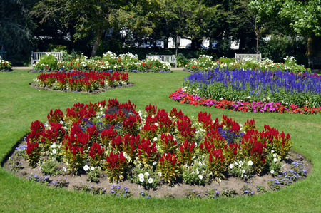 Jephson Gardens in Leamington Spa, Warwickshire photo