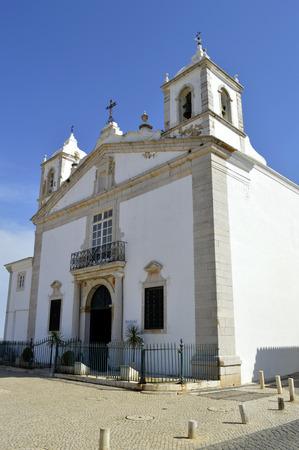 barlavento: Santa Maria Church Lagos Stock Photo