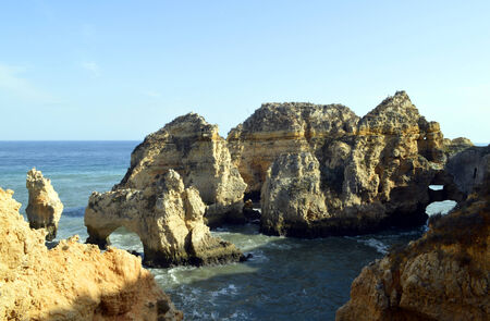barlavento: Ponta Da Piedade spectacular rock formation in Portugal