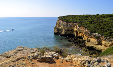 barlavento: The Cliffs at Senhora Da Rocha, Nova Beach on the Algarve, Portugal