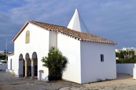 senhora: The Chapel of Nossa Senhora da Rocha Stock Photo