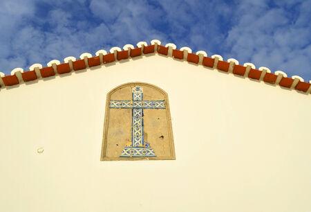 rocha: The Chapel of Nossa Senhora da Rocha gable end