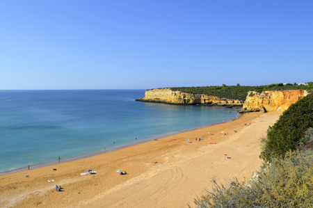 barlavento: Senhora Da Rocha Nova Beach in Portugal