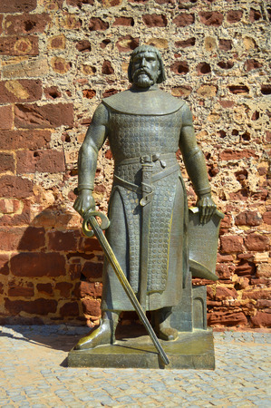 statute: A statute of Sancho I King of Portugal