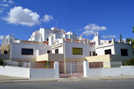 armacao: Villa in the village of Armacao De Pera in Portugal Editorial