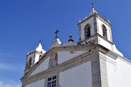 barlavento: Santa Maria Church in Lagos, Portugal