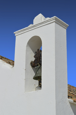 armacao: Church bell tower in Armacao De Pera, Portugal
