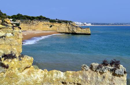 armacao: Cova Redonda Beach, Armacao De Pera, Algarve, Portugal