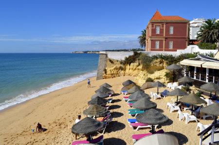 armacao: Armacao De Pera Beach on the Algarve Editorial
