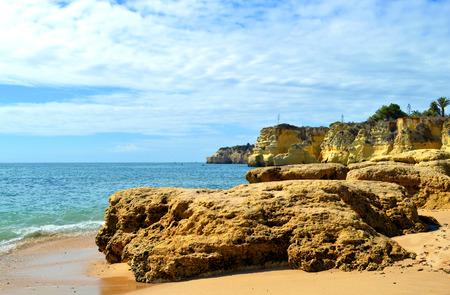 vale: Vale Olival Plaża spektakularne klify