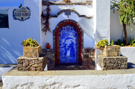 alte: A spring water fountain in Alte, Portugal