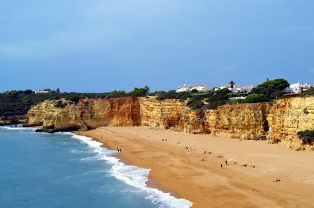 rocha: Senhora Da Rocha Nova Beach in Portugal