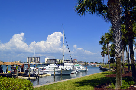 pinellas: Clearwater Beach in Florida Editorial
