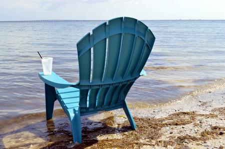 pinellas: Chair on Ben T Davis Beach Florida