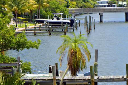 bayou: Hudson Bayou in Sarasota Florida