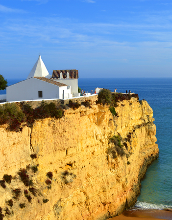 senhora: The Chapel of Nossa Senhora da Rocha Stock Photo