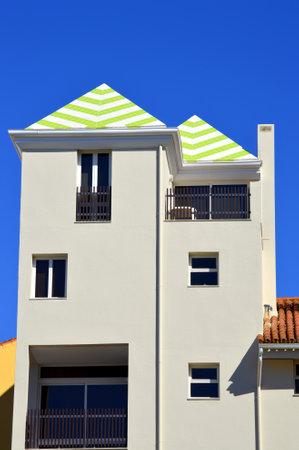vilamoura: Vilamoura, Algarve, Portugal - October 26, 2015:House in the town of Vilamoura in Portugal Editorial