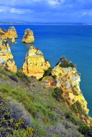 spectacular: Ponta Da Piedade spectacular rock formations