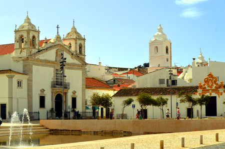 barlavento: The historical Santa Maria Church in Lagos