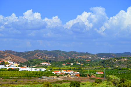 monchique: Silves in the Monchique mountains of Algarve in Portugal