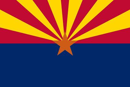 state of arizona: Arizona State Flag