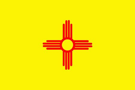 new mexico: New Mexico State Flag