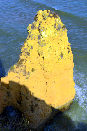 barlavento: Ponta Da Piedade spectacular rock formation Stock Photo