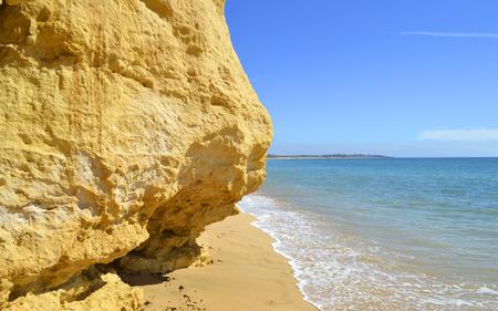 armacao: Armacao De Pera Beach on the Algarve coast