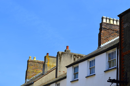 typical: Typical Welsh chimney pots