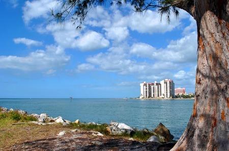pinellas: Sand Key in Florida Stock Photo