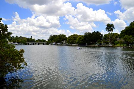 bayou: Hudson Bayou in Sarasota, Florida