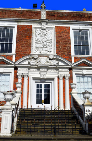 liverpool: Croxteth Hall, Liverpool, UK - March 25, 2016 : The 15 century historical Croxteth Hall in Liverpool