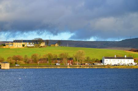 lancashire: Hollingworth Lake in Rochdale Lancashire