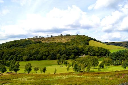 derbyshire: Golf course in Glossop, Derbyshire, England UK Stock Photo