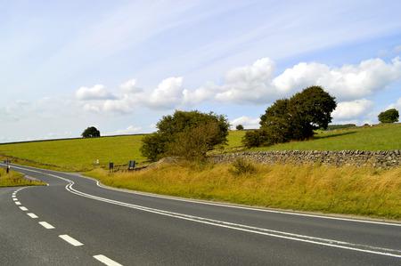 derbyshire: Peak District National Park in Derbyshire, England UK