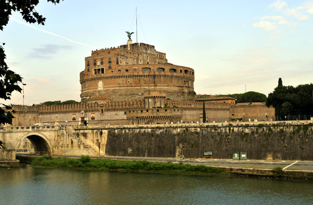 The historical Castle of the Holy Angel was initially commissioned by the Roman Emperor Hadrian as a mausoleum for himself and his family.