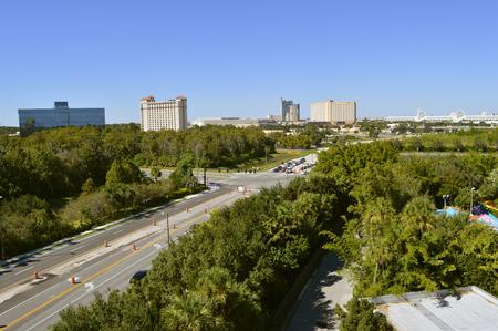 cross roads: Cross roads on International Drive in Orlando Florida at Sea World and Aquatica