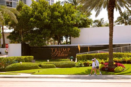 Trump Palace residential condominiums in Sunny Isles Beach Florida