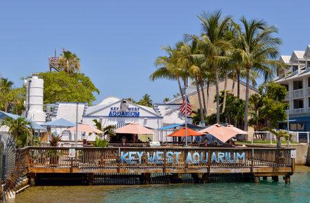 Key West Aquarium Florida one of Floridas oldest aquariums Editorial