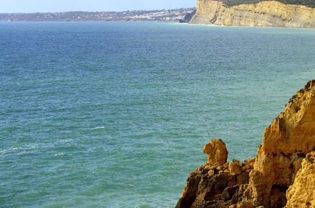Ponta Da Piedade spectacular rock formations Camels head on the Algarve coast