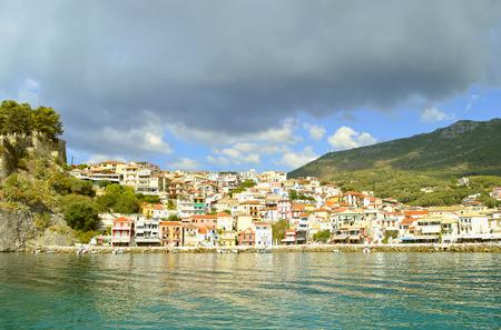 Paxos a small island south of Corfu a Greek island in the Ionian sea Stock Photo