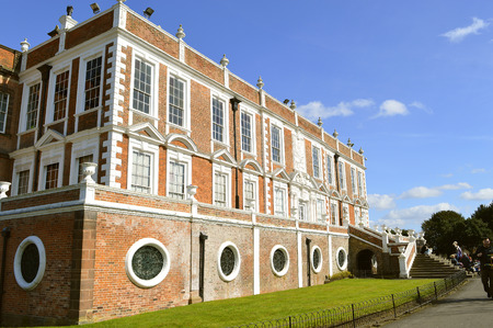 The 15 century historical Croxteth Hall in Liverpool Editorial