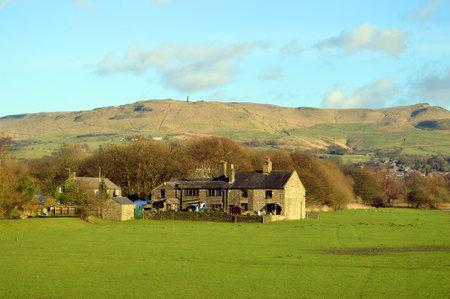 Farmhouse in Friezland in the Peak District National Park Sajtókép