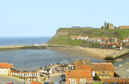 Whitby a seaside town in North Yorkshire