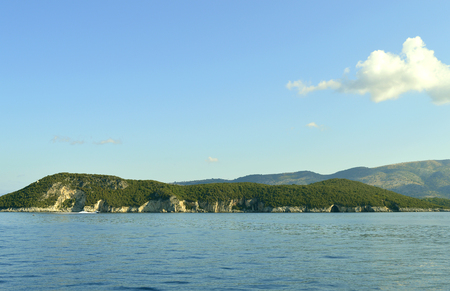 Paxos Beach a small island south of Corfu a Greek island in the Ionian sea