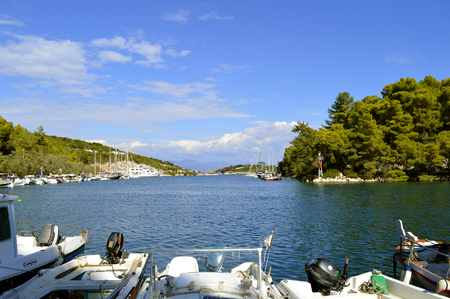 Antipaxos a small island south of Corfu a Greek island in the Ionian sea Editorial